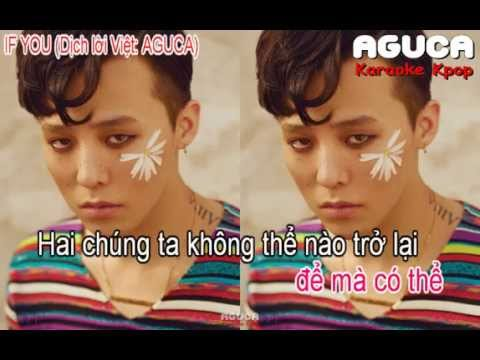 [Karaoke Việt] IF YOU - BIGBANG