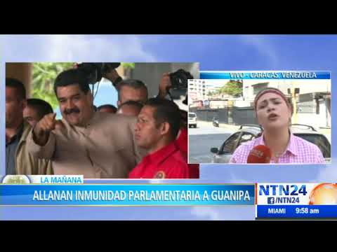 ANC allana inmunidad parlamentaria del diputado venezolano Juan Pablo Guanipa