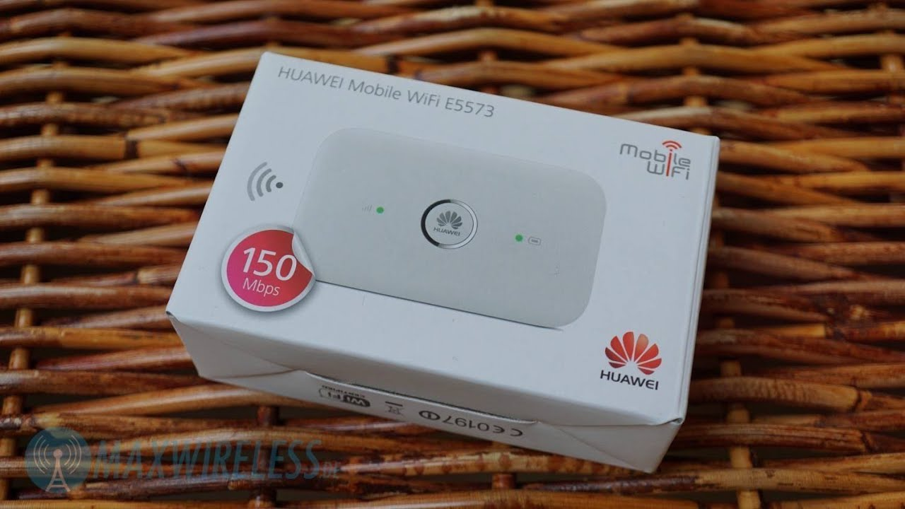 huawei e5573 lte cat4 hotspot im test youtube