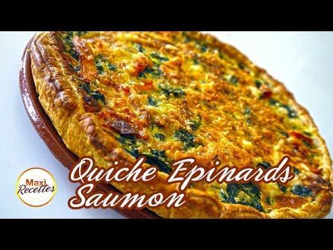 recette-quiche-epinards-saumon-à-la-pâte-feuilletée