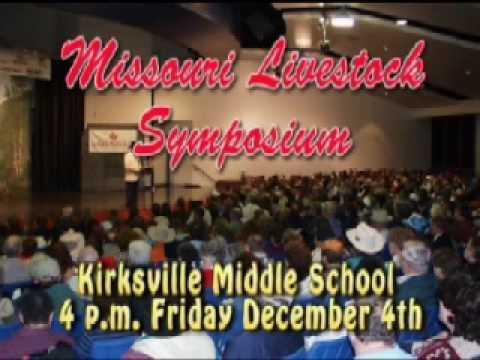 2009 Missouri Livestock Symposium, Kirksville, MO