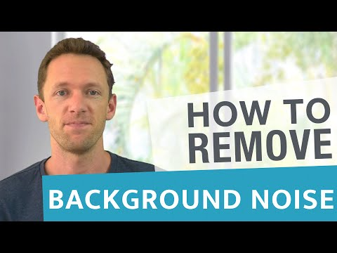 How To Remove Background Noise In Videos