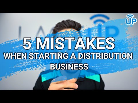 5 Things NOT To Do When Starting A Wholesale Distribution Business | LaceUp Solutions DSD Software