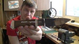 Два охотничьих ножа ,переделка.(В этом видео я покажу как переделал рукояти на охотничьих ножах , и что в итоги получилась.конец https://www.youtube.co..., 2016-02-13T11:46:17.000Z)