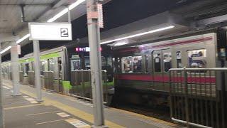【京王線】明大前にて都営新宿線 直通車両出発