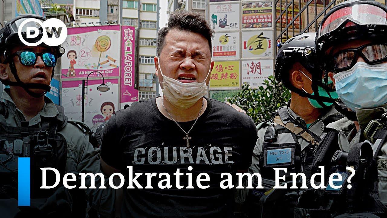 Neues 'Sicherheitsgesetz' - Das Ende der Demokratie in Hongkong?   DW Nachrichten
