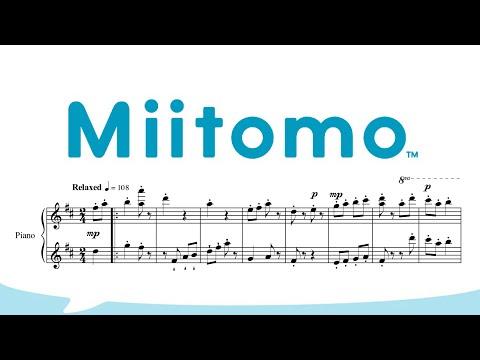 Home (Evening) - Miitomo (Piano sheet music/MIDI)