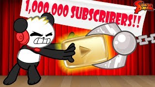 1,000,000 Subs Special and Awards! WHO STOLE MY YOUTUBE PLAY BUTTON!?