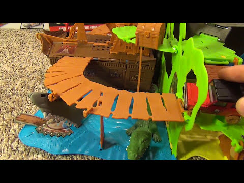 Matchbox Giant Pop Up Pirate Land Adventure Set Toy Review
