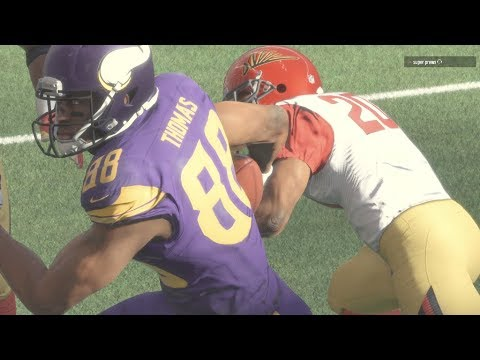 OUCH! HE BROKE HIS ANKLES! Madden 18 Ultimate Team Gameplay #Madden18