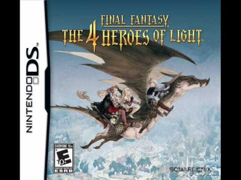 Final Fantasy: The 4 Heroes of Light - Battle With demons EXTENDED (Normal battle)