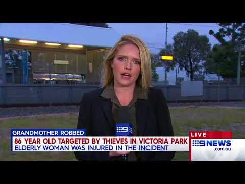 Grandmother robbed | 9 News Perth