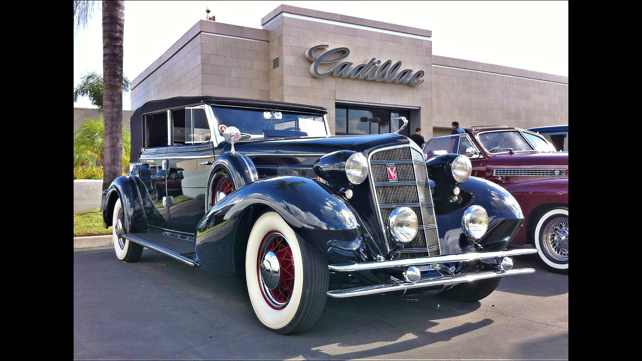 1934 Cadillac Convertible - YouTube