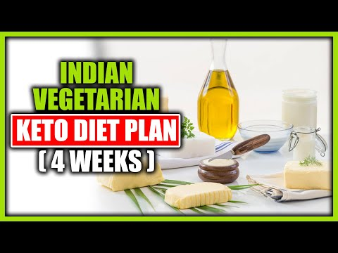Keto Diet Indian Vegetarian Meal Plan