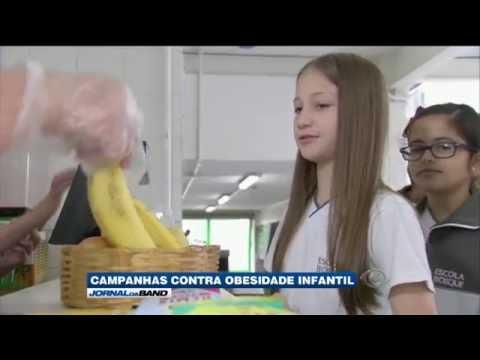 Escolas adotam programa de reeducação alimentar