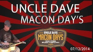 Uncle Dave Macon Days 2014 | Live Bluegrass Muisc