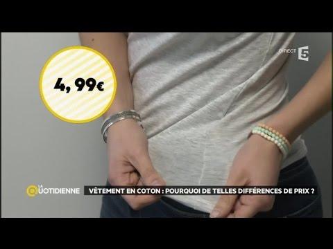 Vêtements en coton : pourquoi de telles différences de prix ?