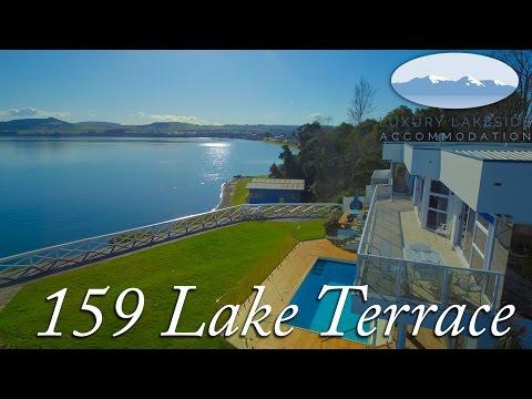Lakeside Luxury Accommodation 159 Lake Terrace Youtube