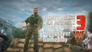 Brothers in Arms 3: Sons of War - Multiplayer Gameplay!