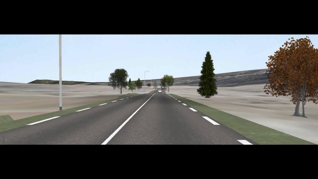 Building information modeling 3D road visualisation HD 01 ...