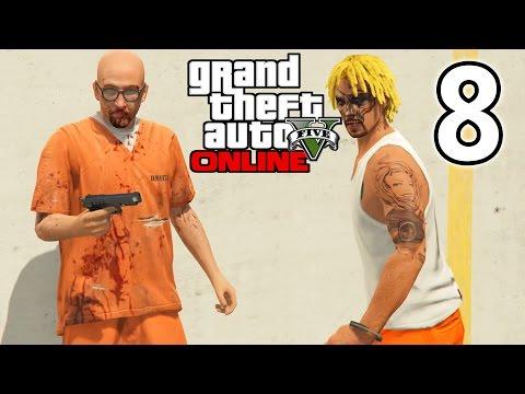 GTA 5 Heists Online Gameplay Walkthrough Part 8 - THE PRISON BREAK HEIST FINALE!