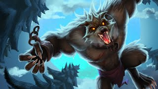 Intentando Carrilear una Ranked con Warwick en la Jungla ( Temporada 5 )