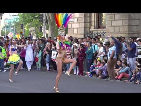 Australia Day Parade in Adelaide 2015