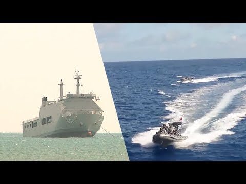 BRP Davao Joined Indonesia and Philippine Navy Maritime  Training