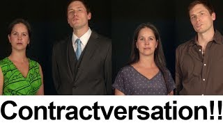 Contractversation -- Going on a Date -- American English Pronunciation
