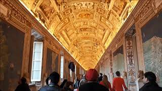 The most beautiful hallway in the world - Vatican City Gallery of Maps | Things to see in Rome