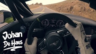 BENTLEY CONTINENTAL GT POV TEST DRIVE AT PIKES PEAK