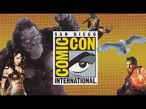 Comic Con Trailers and Suicide Squad!