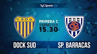 Dock Sud vs Sportivo Barracas full match