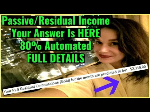 Top Home Based Residual Income Business 2018 - Power Lead System Income Proof - QUIT Your JOB