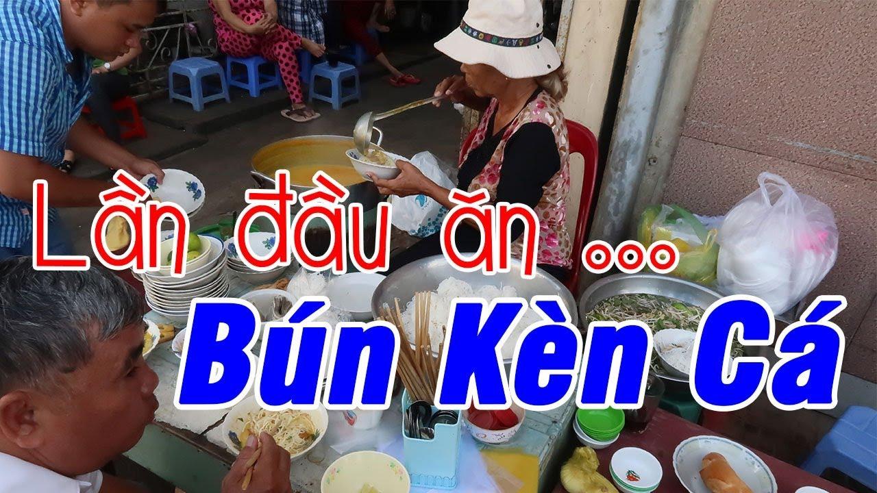 Lần đầu ăn Bún Kèn Cá | Du Lịch Ăn Uống An Giang #2