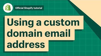 How To Reply To Customer Emails With a Custom Domain Email Address || Shopify Help Center 2019