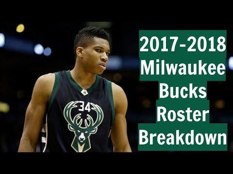 2017-2018 Milwaukee Bucks Roster Breakdown: NBA 2k18 Rosters