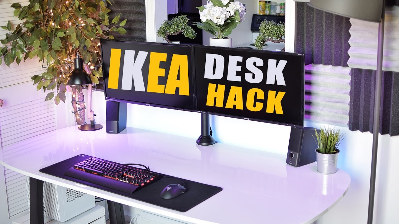 Best Desk? Ikea Desk Hack V2.0