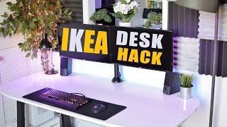 best desk ikea desk hack v2 0
