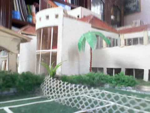 Maquetas y proyectos escolares youtube for Proyectos de casas