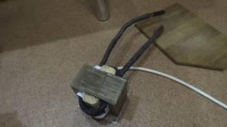 видео трансформатор для точечной сварки