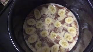 Банановый пирог в мультиварке