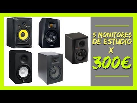 5 MONITORES DE ESTUDIO POR 300€ | Sonido Hip Hop