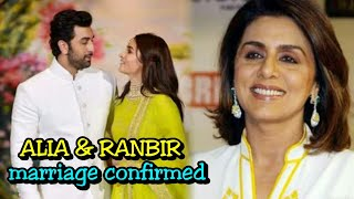 BREAKING! Ranbir Kapoor And Alia Bhatt Getting Married Soon