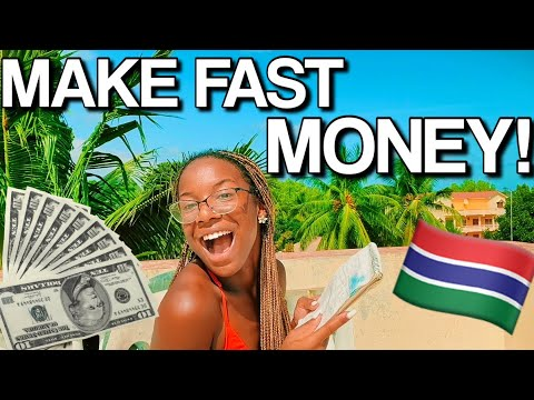 How To Make Money As a Teen in Gambia!  *QUICK and EASY MONEY!* 🤑