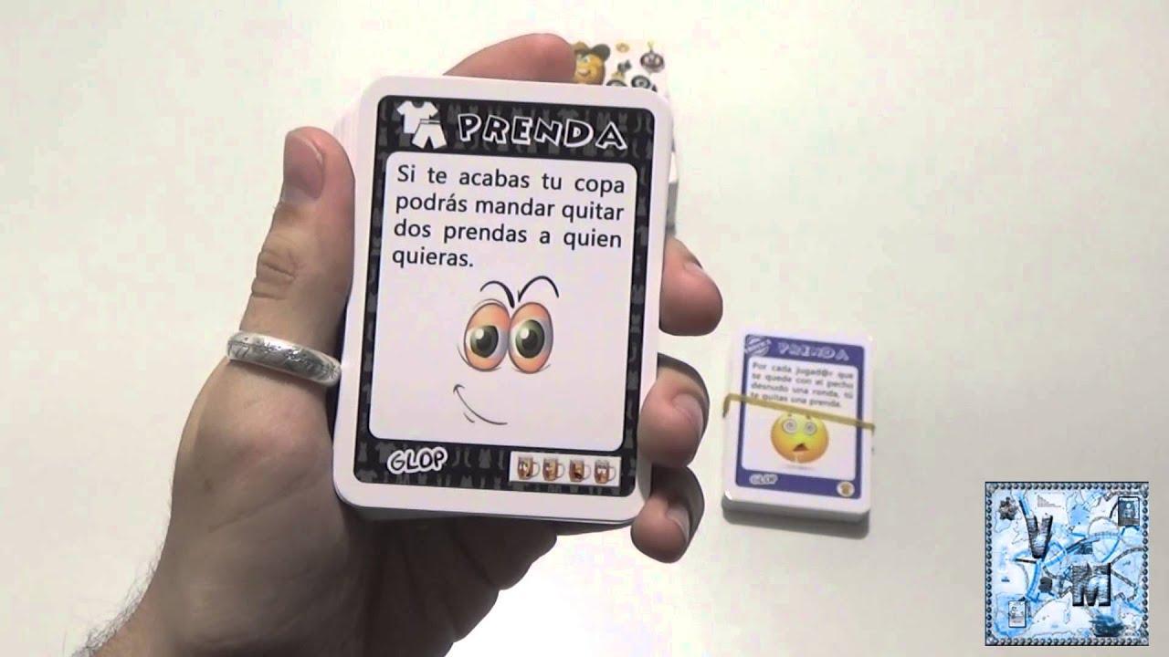 7c1f44210 Glop: Packs Prenda y Erótica - Juego de beber - Reseña/aprende a jugar