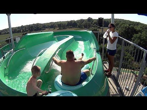 Space Boat Water Slide at Aquacolors Poreč