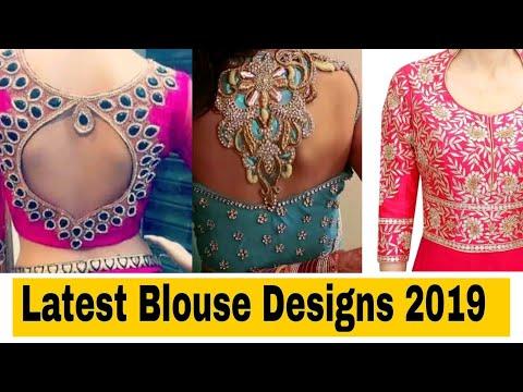 Blouse designs/Latest blouse designs/Blouse neck designs | Hindi