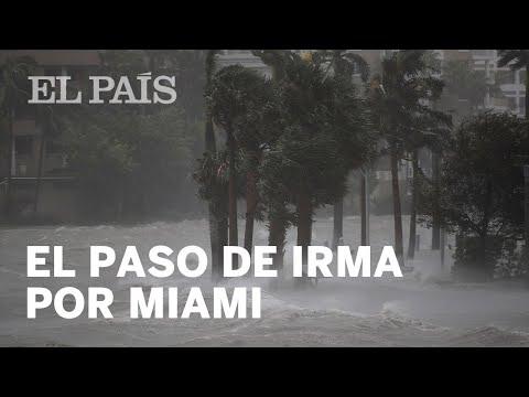 El paso del huracán Irma por EE UU comienza en Florida | Internacional