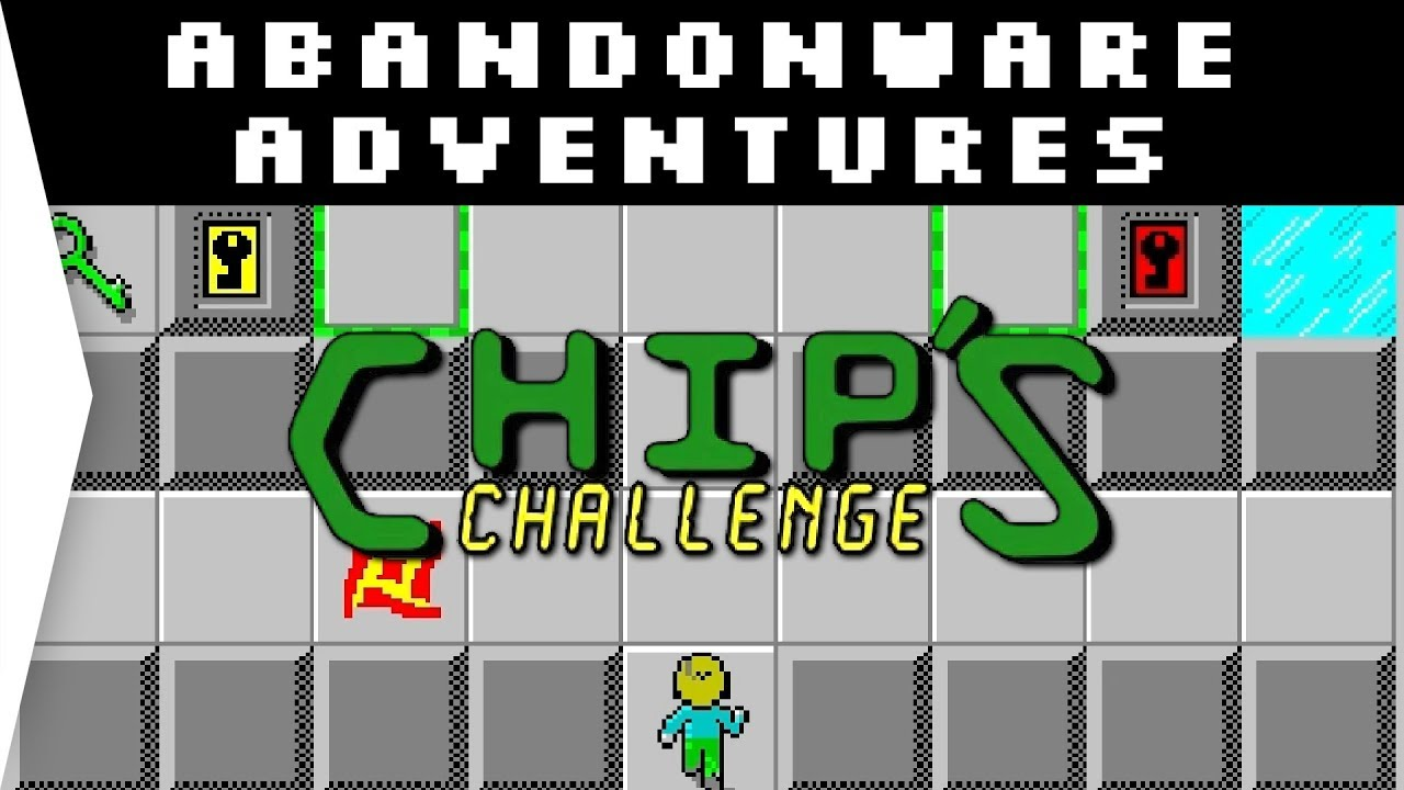 Chip's Challenge ► Original Retro 1989 Puzzle Game on Windows 10 -  [Abandonware Adventures]